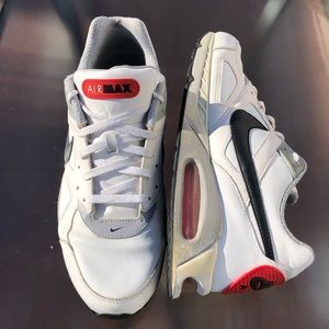 huge selection of ebd88 09119 Nike Shoes | Air Max Ivo Ltr 580520 100 White Red Running | Poshmark